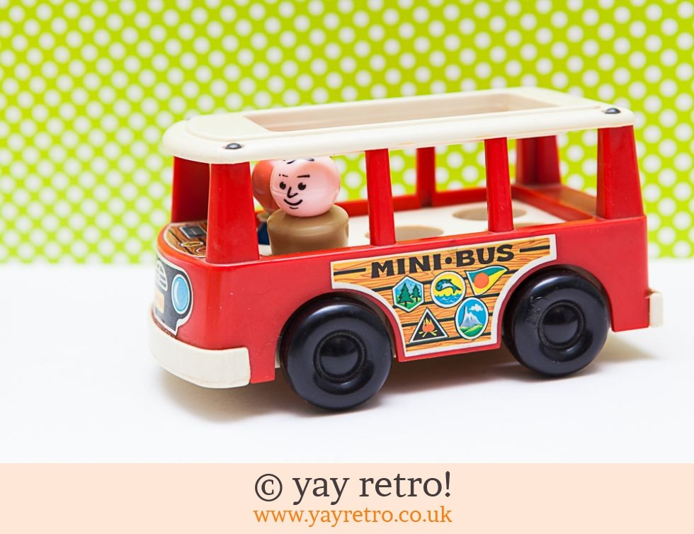 Fisher Price 1969 Mini Bus With Happy Couple (£16.50)
