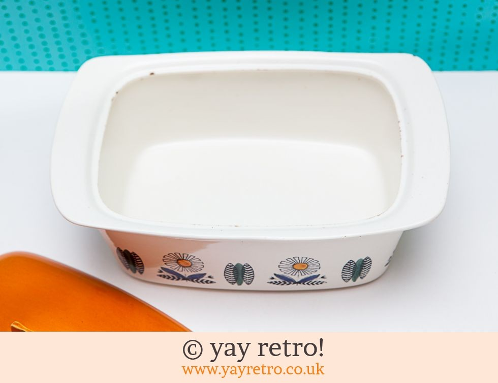Egersund Norway Orange Daisy Ovenware Dish (£26.50)