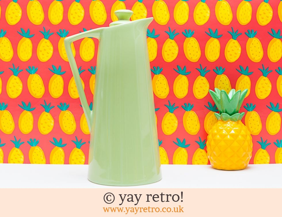 Empire: Art Deco Lime Green Vacuum Flask (£12.50)