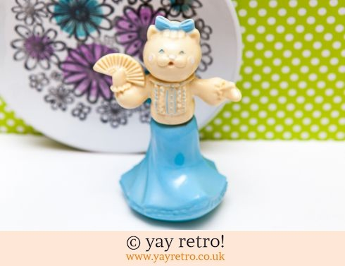 626: Vintage Avon Cat Perfume Ornament (£10.50)