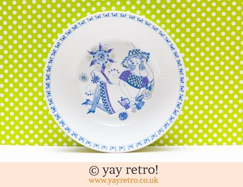 Figgjo Flint Norway: Figgjo Flint Lotte Dish (£10.00)