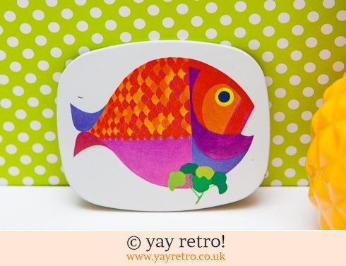 102: 1960/70s Fish Coaster Goldfish - Rare (£15.00)