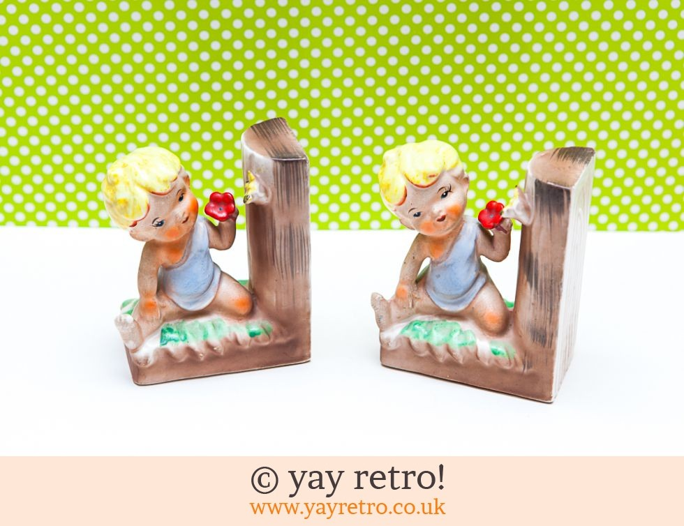 Ultra Kitsch Vintage 50s Bookends (£15.50)