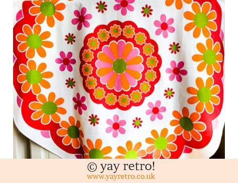 0: Best Ever Flower Power Tablecloth! (£29.95)