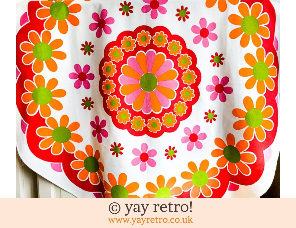Best Ever Flower Power Tablecloth! (£29.95)