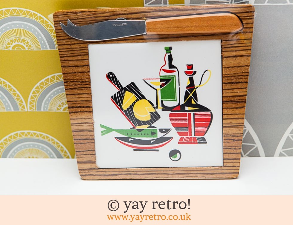 1950/60s Tile Chopping Board - Unopened pack (£14.00)