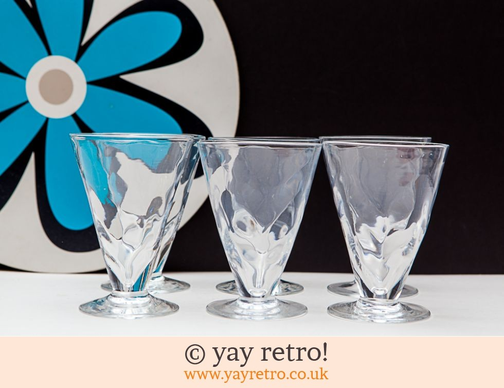 6 Sundae Glasses (£12.75)