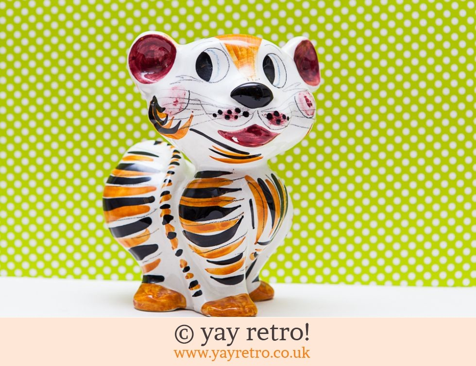 Large Vintage Italian TIger Money Box (£9.95)