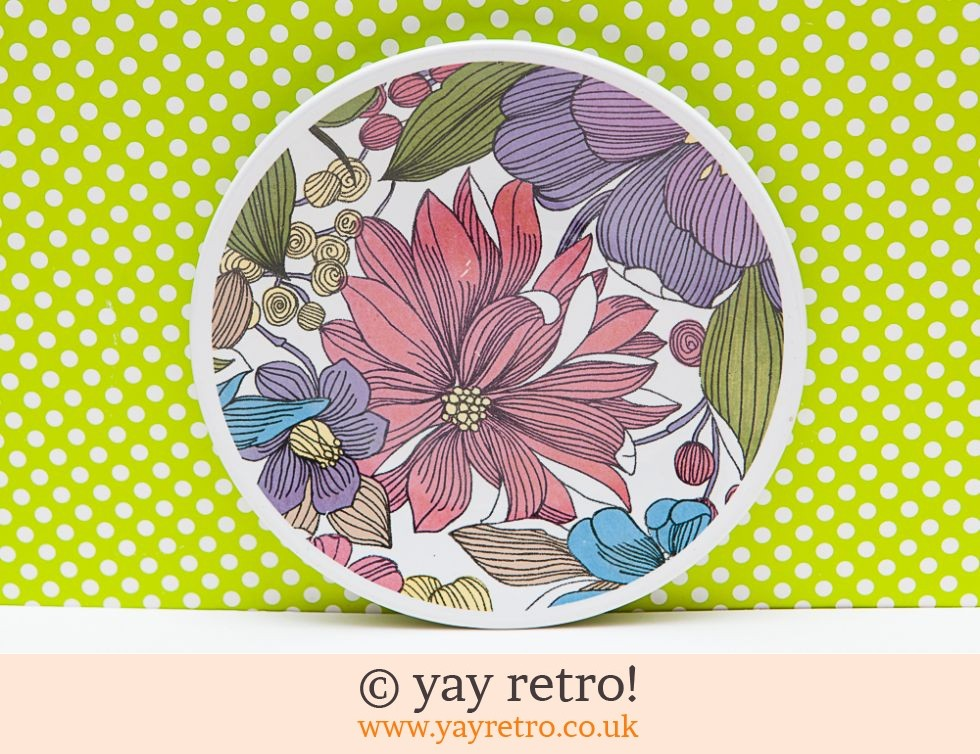 Washington Pottery: Rare 60/70s Invitation Tea Plate (£7.00)
