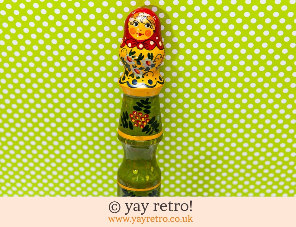 Large Russian Doll Ornamental Crayon! (£6.50)