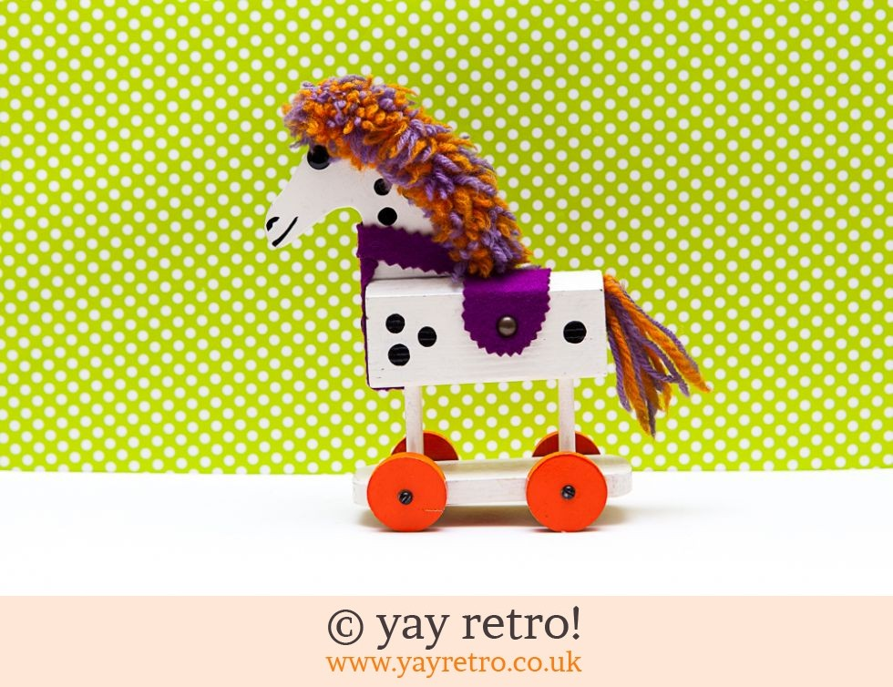 Ruth Beard : Ruth Beard Vintage Horse on Wheels (£21.00)