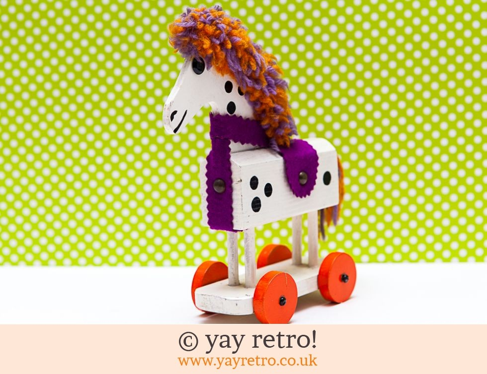 Ruth Beard Vintage Horse on Wheels (£21.00)