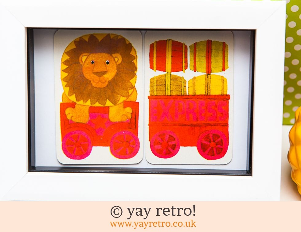 1970s Lion Train Framed (£8.75)