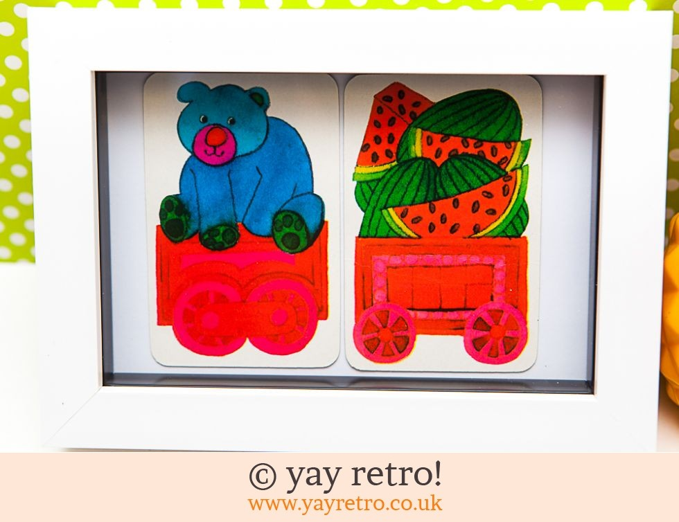Juicy Bear Train Framed (£7.50)