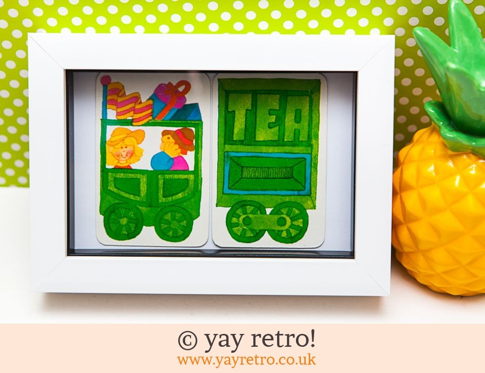 Hallmark: 1970s Tea Train Ride Framed (£8.50)