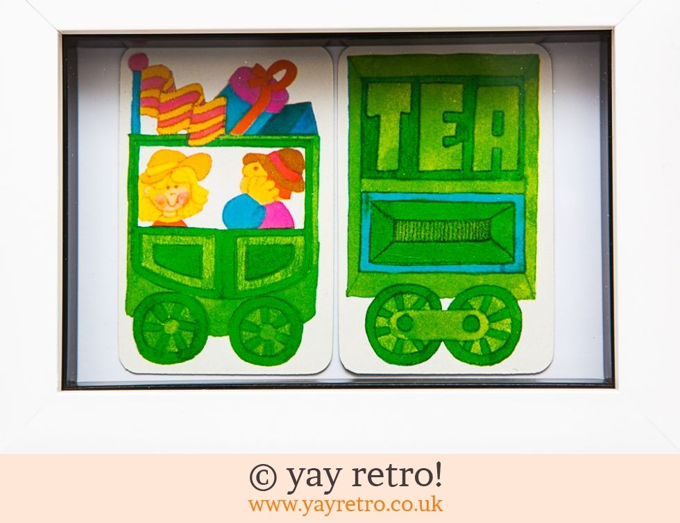 1970s Tea Train Ride Framed (£8.50)