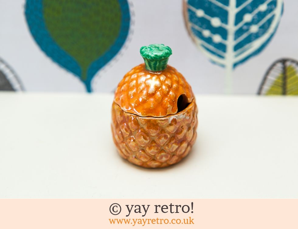 Vintage Miniature Pineapple Pot (£8.00)