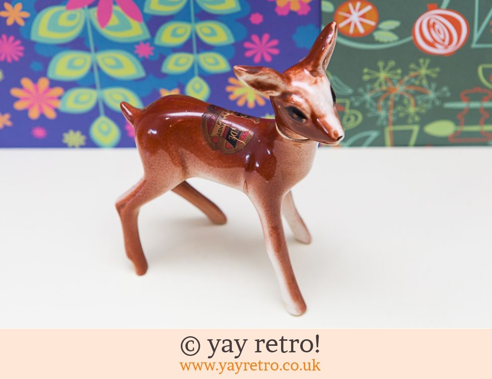 Large Vintage China Deer 50/60s (rare) (£12.00)