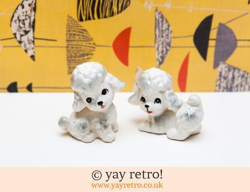0: Gorgeous Kitsch Poodles 1960s (£12.50)