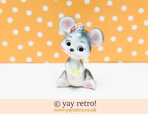 0: 60s Kitsch Mouse Ornament (£8.75)