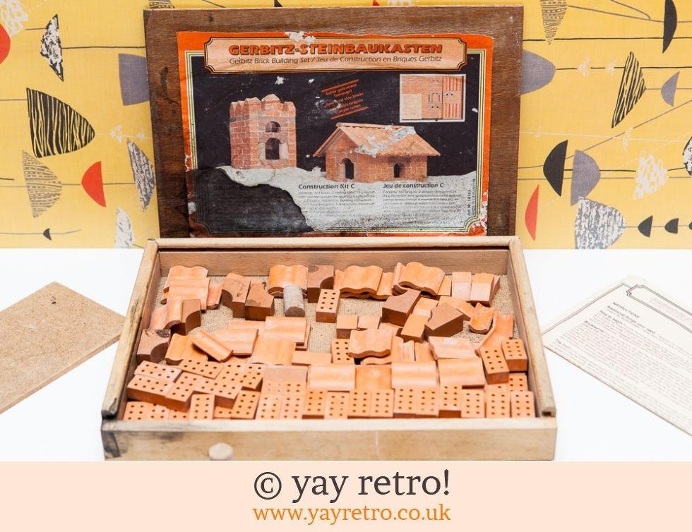 Building Toys From The 60s : Vintage toy real brick construction set s