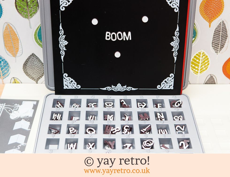 Magnetic Letters and Board Set in Case (£28.50)