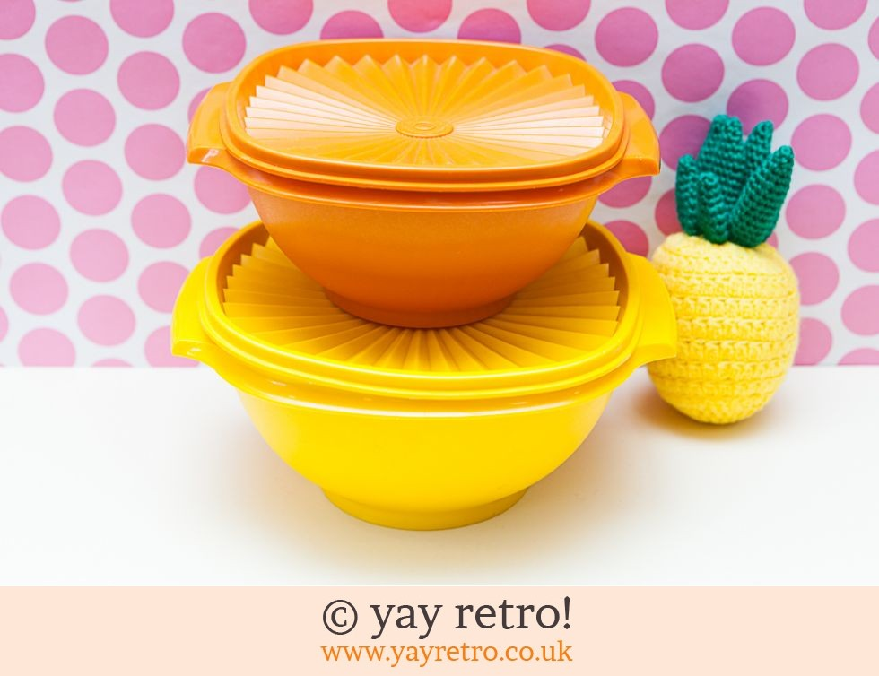 Tupperware: Tupperware Harvest Lidded Bowls (£20.00)