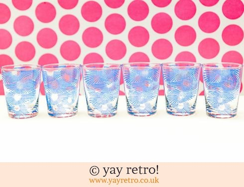 0: 6 Vintage 1950/60s Shot Glasses (£8.75)