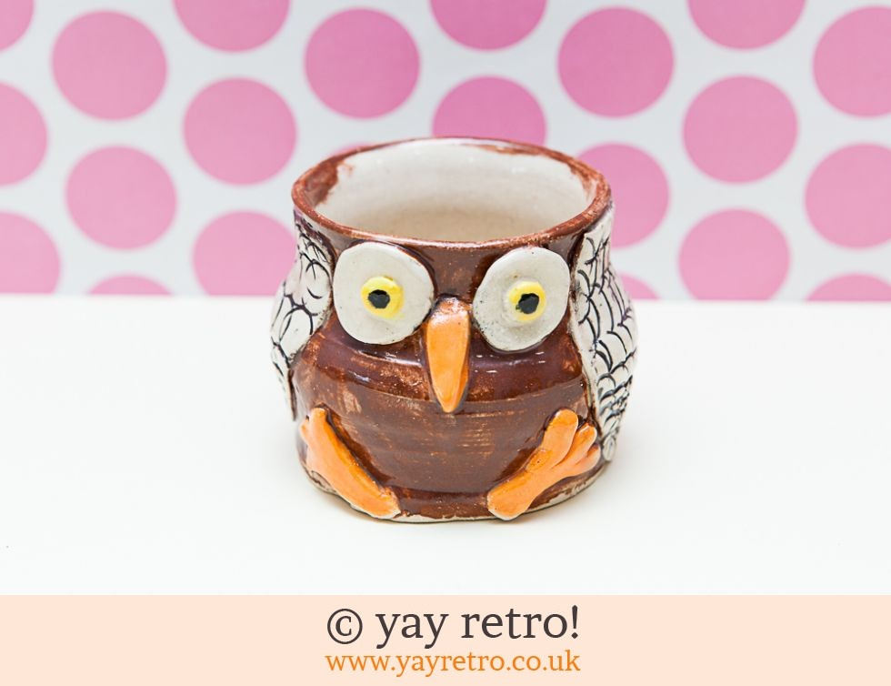 Good Quality Pottery Owl (£5.50)