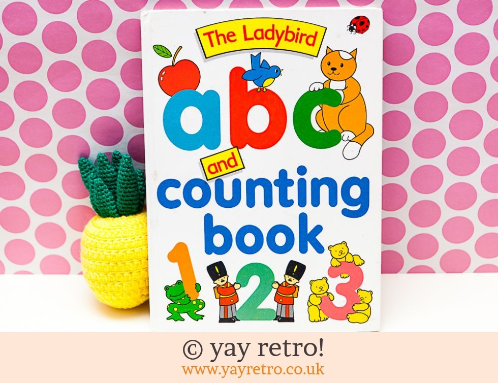 A4 Ladybird ABC & Counting Book 1979 (£9.75)