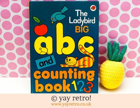 A4 Ladybird ABC & Counting Book 1979 (£6.50)