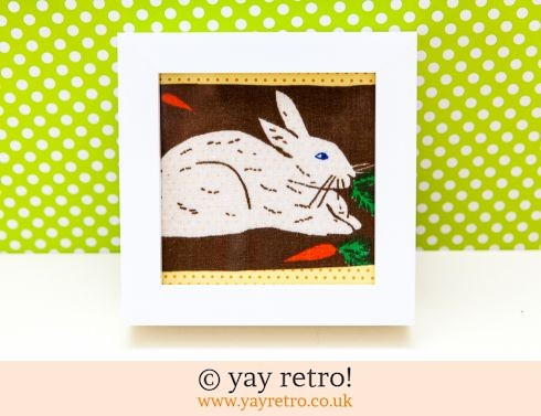 447: Galt Rabbit Framed 4x4 (£7.50)