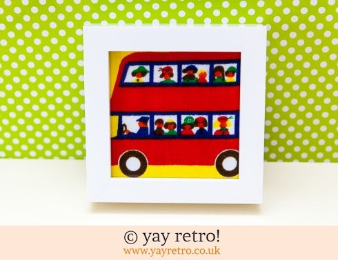 0: Galt Bus Framed 6x4 (£8.50)
