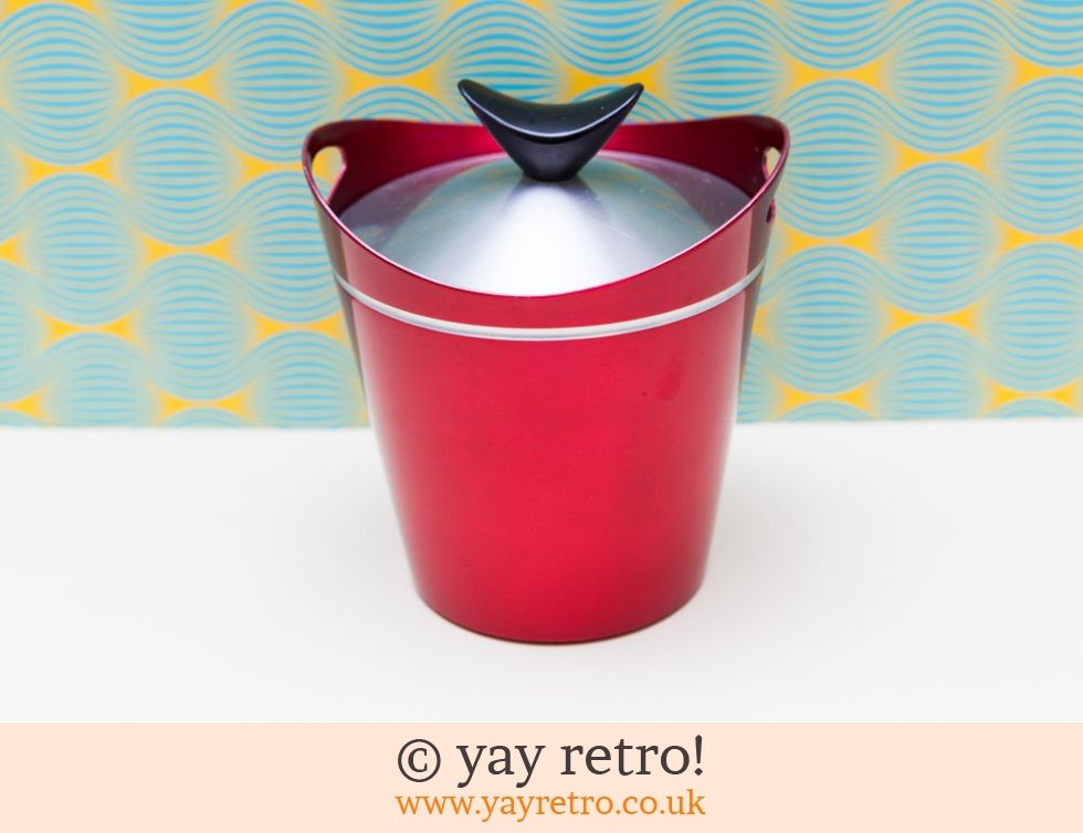 Funky 50/60s Metal Ice Bucket (£27.25)