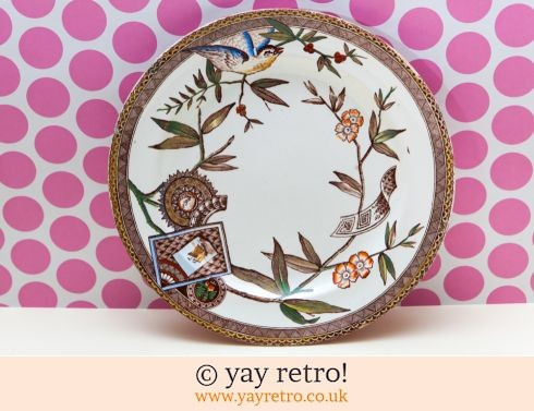 181: 1881 Wedgwood Louise Plate - Coloured (£12.00)