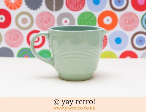 58: Small Beryl Milk / Cream jug (£7.00)