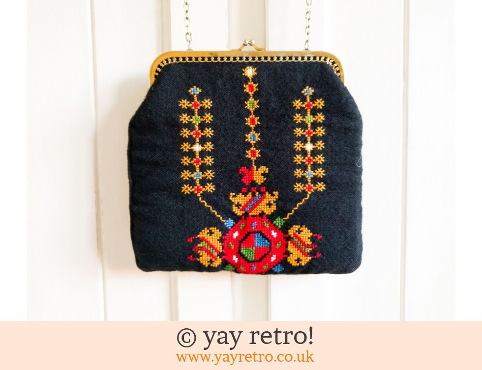 60s Tapestry/Embroidered Bag (£16.50)