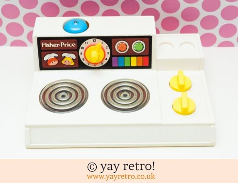 535: Fisher Price Cooker 1978 post free (£21.00)