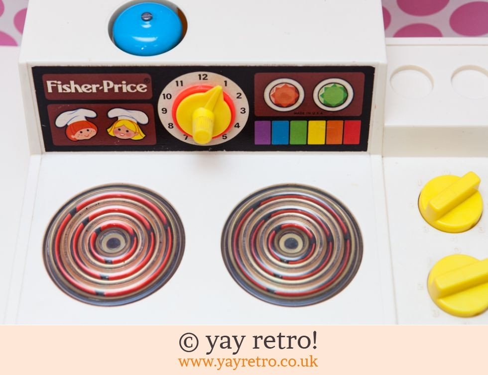 Fisher Price Cooker 1978 post free (£16.00)