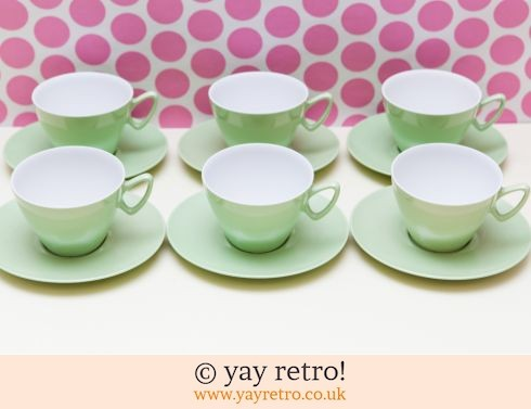 0: Unused Gaydon Melmex Teaset  - Pastel Green (£20.00)
