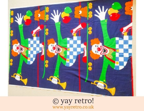 0: Clowning Around - Tons & Tons of Fabric! (£8.00)