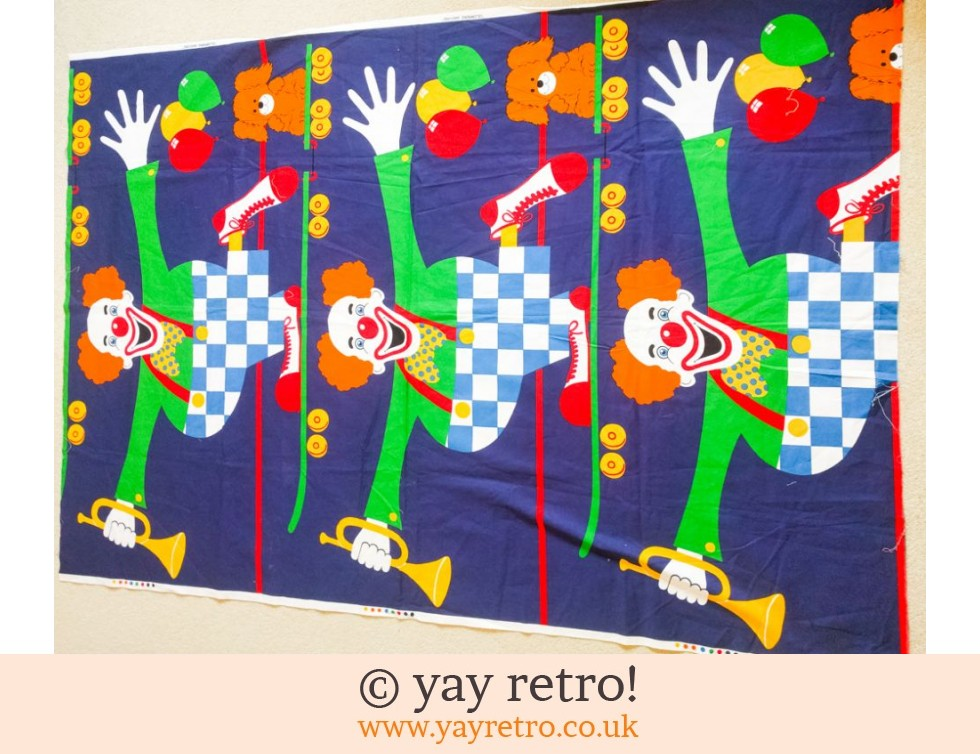 Clowning Around - Tons & Tons of Fabric! (£6.00)