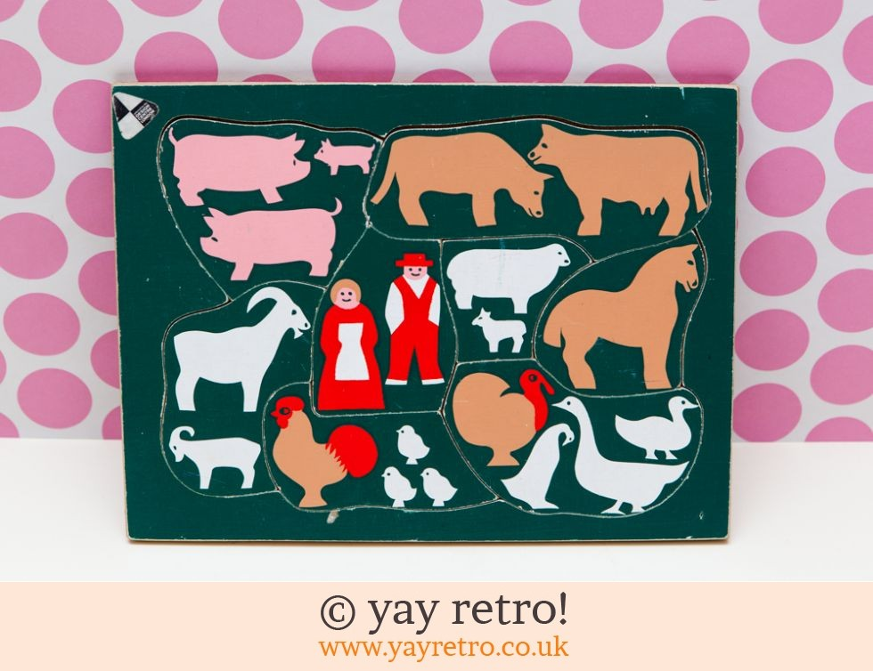 Design Centre: Vintage Farm Jigsaw 1960/70s (£11.00)