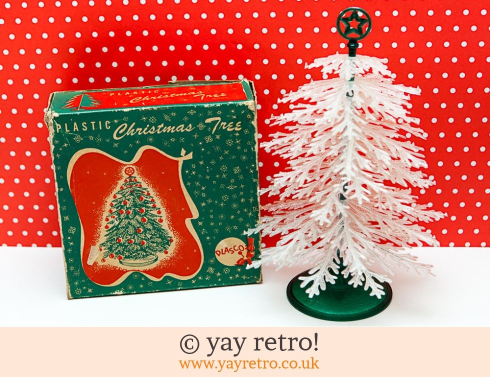 Plasco Vintage Christmas Tree - Buy yay retro Handmade ...