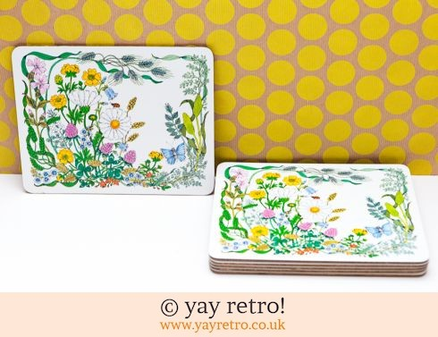 248: M&S Vintage Floral Table Mats - Stunning (£13.95)