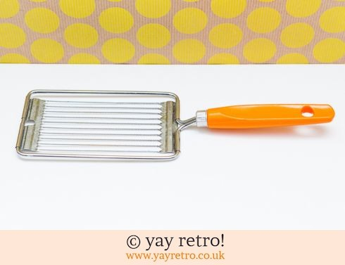 0: Orange Vintage Tomato Slicers (£6.00)