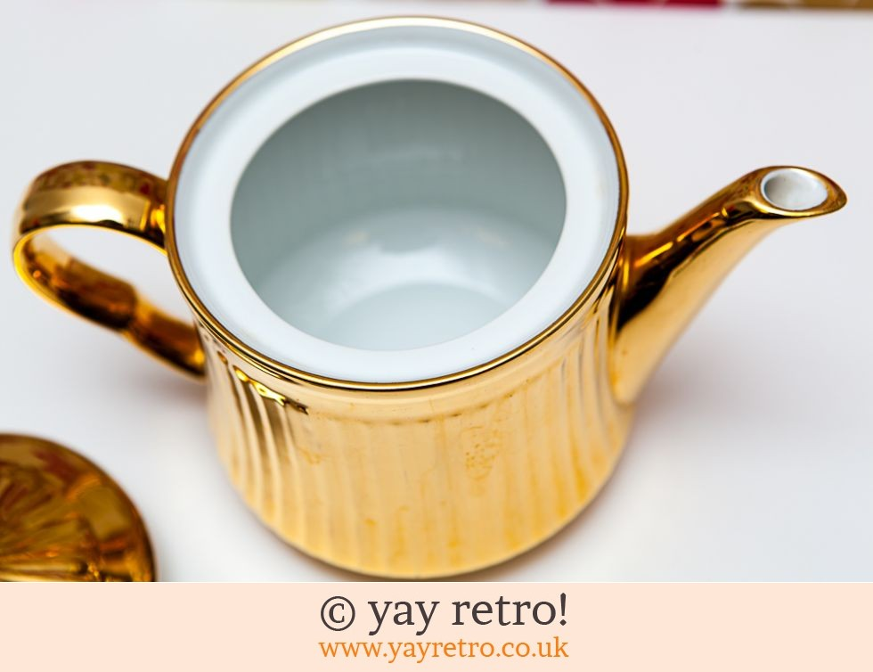 Gold Lustre Royal Worcester Teapot (£12.00)