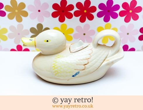 0: Vintage Duck Shaped Teapot 1940/50s (£12.95)