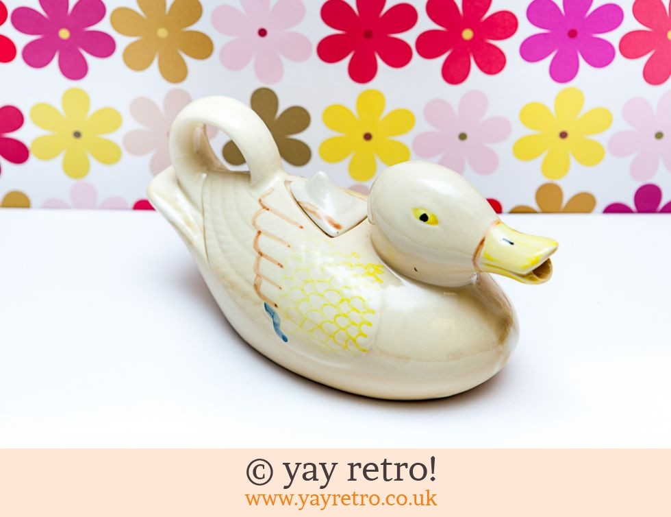 Vintage Duck Shaped Teapot 1940/50s? (£14.00)