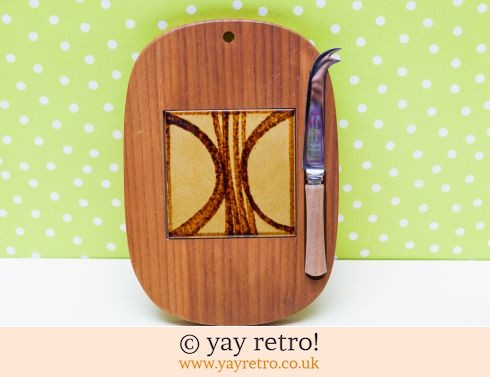0: Funky 60/70s Tile Cheese Board (£18.00)